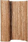 Hiss Reet® Baumrinde Sichtschutz, Rindenmatte I Perfekter Windschutz & Sichtschutz für Balkon, Zaun & Garten I Verschiedene Größen (90 x 300 cm)