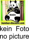 bambus-discount.com WPC Zaun Glasprofil, hoch 30x180cm - 30cm hohes wunderschönes Sicherheitsglas für WPC Sichtschutzzäune