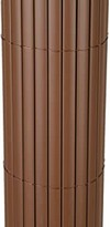 TOP MULTI PVC Sichtschutz-Matte für Balkon/Garten 0,8m x 3m in Makassar Braun | Sichtschutz-Zaun inkl. Befestigung + wetterfest | Windschutz-Matte | Blende | Blickschutz-Zaun | Balkon-Verkleidung