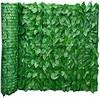 Sichtschutz Windschutz Verkleidung Buchenhecke für Balkon Terrasse Zaun, Deko für Balkongeländer, Künstliche Hecke für Balkonzaun 50x100/300 cm