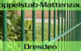 Doppelstabmattenzaun + Sichtschutz in Dresden Sachsen kaufen