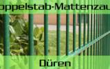 Doppelstabmattenzaun + Sichtschutz in Düren Nordrhein-Westfalen preiswert kaufen | Preislisten, aktuelle Angebote, Kaufberatung und Preise für Doppelstabmatten-Zaun...
