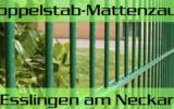 Doppelstabmattenzaun + Sichtschutz in Esslingen am Neckar Baden-Württemberg preiswert kaufen   Preislisten, aktuelle Angebote, Kaufberatung und Preise für Doppelstabmatten-Zaun...