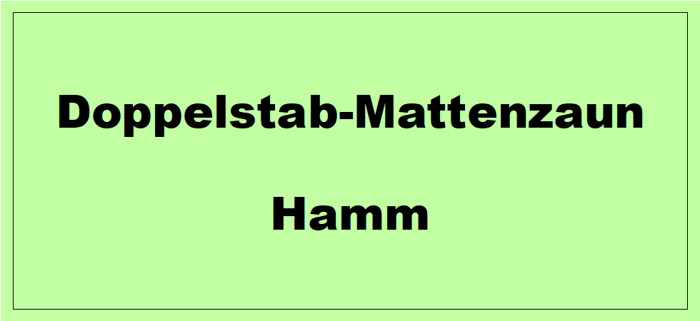 Doppelstabmattenzaun + Sichtschutz in Hamm Nordrhein-Westfalen preiswert kaufen | Preislisten, aktuelle Angebote, Kaufberatung und Preise für Doppelstabmatten-Zaun...