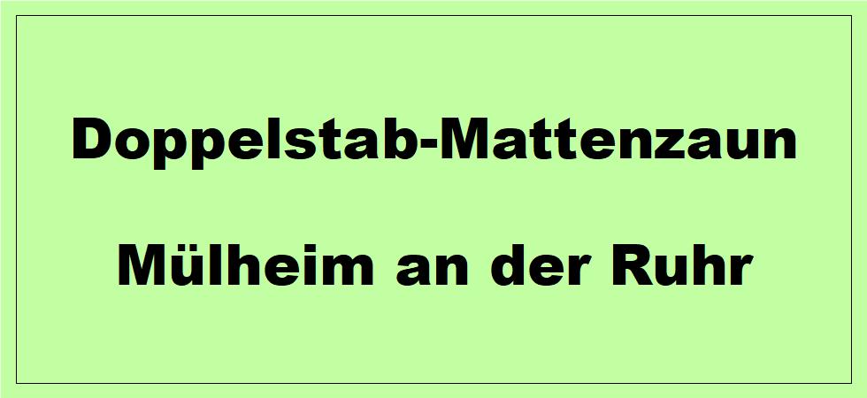Doppelstabmattenzaun + Sichtschutz in Mülheim an der Ruhr Nordrhein-Westfalen preiswert kaufen | Preislisten, aktuelle Angebote, Kaufberatung und Preise für Doppelstabmatten-Zaun...