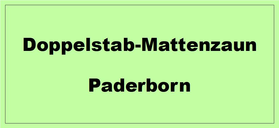 Doppelstabmattenzaun + Sichtschutz in Paderborn Nordrhein-Westfalen preiswert kaufen | Preislisten, aktuelle Angebote, Kaufberatung und Preise für Doppelstabmatten-Zaun...
