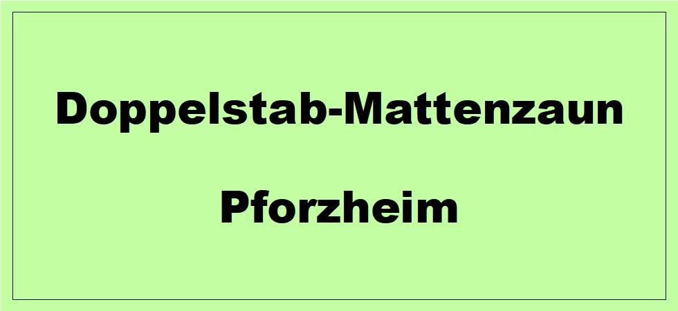 Doppelstabmattenzaun + Sichtschutz in Pforzheim Baden-Württemberg preiswert kaufen | Preislisten, aktuelle Angebote, Kaufberatung und Preise für Doppelstabmatten-Zaun...