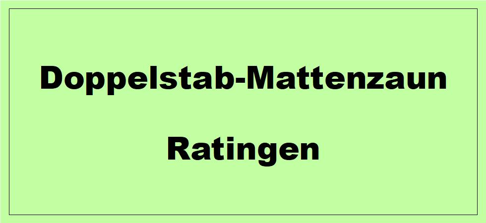 Doppelstabmattenzaun + Sichtschutz in Ratingen Nordrhein-Westfalen preiswert kaufen | Preislisten, aktuelle Angebote, Kaufberatung und Preise für Doppelstabmatten-Zaun...