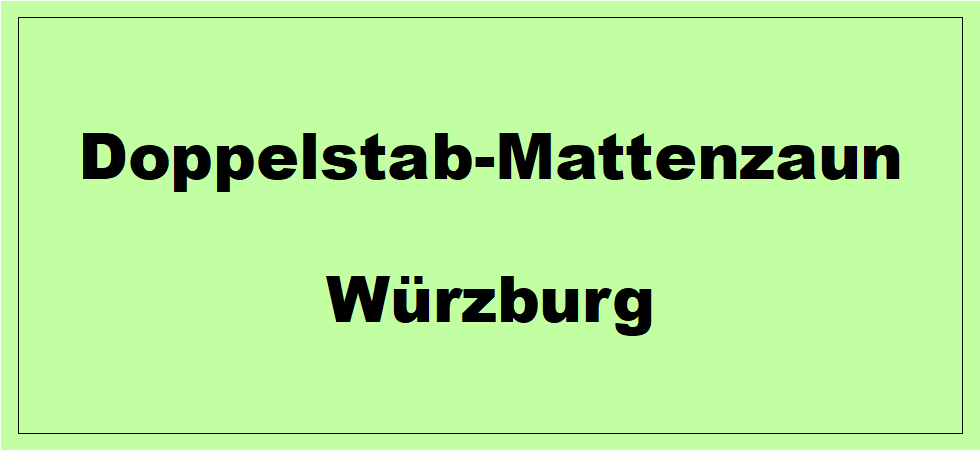 Doppelstabmattenzaun + Sichtschutz in Würzburg Bayern preiswert kaufen | Preislisten, aktuelle Angebote, Kaufberatung und Preise für Doppelstabmatten-Zaun...
