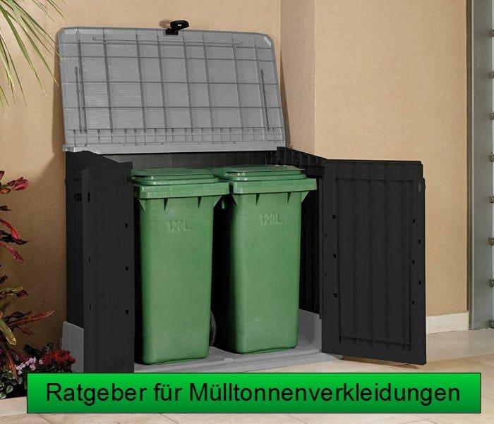 Ratgeber für Mülltonnenverkleidungen und Müllboxen