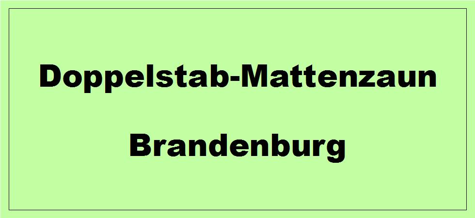 Doppelstabmattenzaun in Brandenburg kaufen
