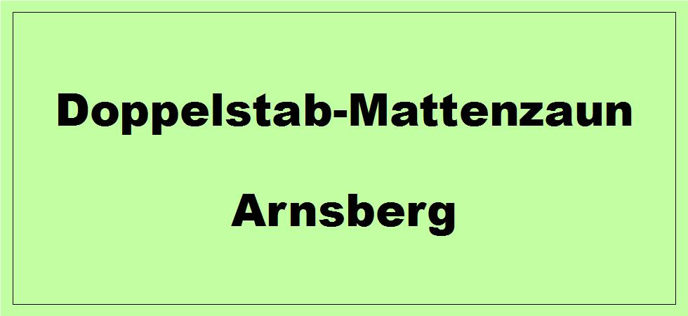 Doppelstabmattenzaun + Sichtschutz in Arnsberg Nordrhein-Westfalen preiswert kaufen | Preislisten, aktuelle Angebote, Kaufberatung und Preise für Doppelstabmatten-Zaun...