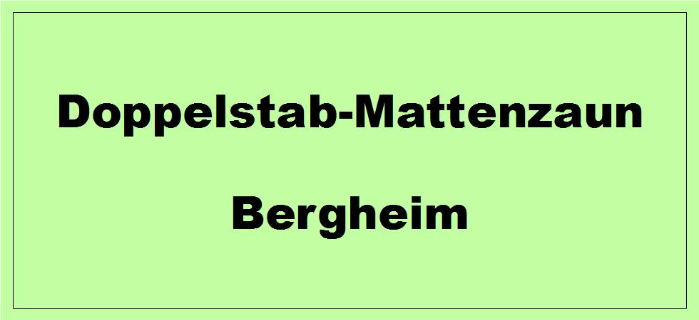 Doppelstabmattenzaun + Sichtschutz in Bergheim Nordrhein-Westfalen preiswert kaufen | Preislisten, aktuelle Angebote, Kaufberatung und Preise für Doppelstabmatten-Zaun...