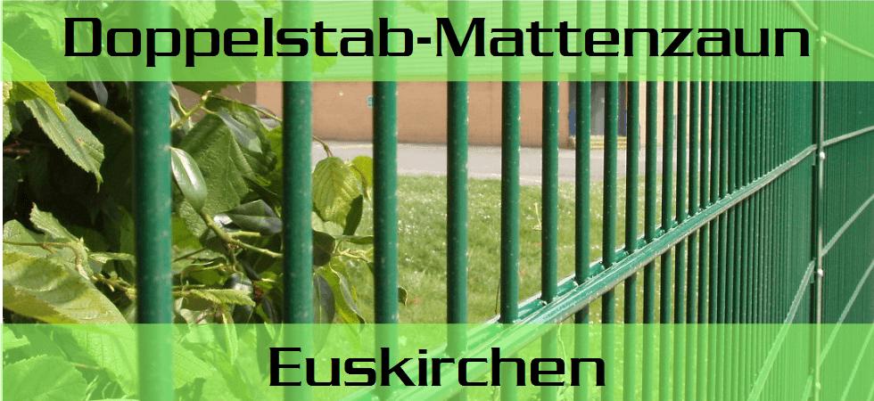 Doppelstabmattenzaun + Sichtschutz in Euskirchen preiswert kaufen