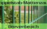Doppelstabmattenzaun + Sichtschutz in Grevenbroich Nordrhein-Westfalen preiswert kaufen | Preislisten, aktuelle Angebote, Kaufberatung und Preise für Doppelstabmatten-Zaun...