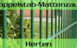 Doppelstabmattenzaun + Sichtschutz in Herten Nordrhein-Westfalen preiswert kaufen | Preislisten, aktuelle Angebote, Kaufberatung und Preise für Doppelstabmatten-Zaun...