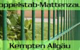 Doppelstabmattenzaun + Sichtschutz in Kempten Allgäu Bayern preiswert kaufen | Preislisten, aktuelle Angebote, Kaufberatung und Preise für Doppelstabmatten-Zaun...
