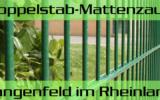Doppelstabmattenzaun + Sichtschutz in Langenfeld Rheinland Nordrhein-Westfalen preiswert kaufen | Preislisten, aktuelle Angebote, Kaufberatung und Preise für Doppelstabmatten-Zaun...