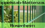 Doppelstabmattenzaun + Sichtschutz in Rosenheim Bayern preiswert kaufen | Preislisten, aktuelle Angebote, Kaufberatung und Preise für Doppelstabmatten-Zaun...
