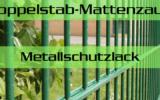 Doppelstabmattenzaun Zubehör Metallschutzlack