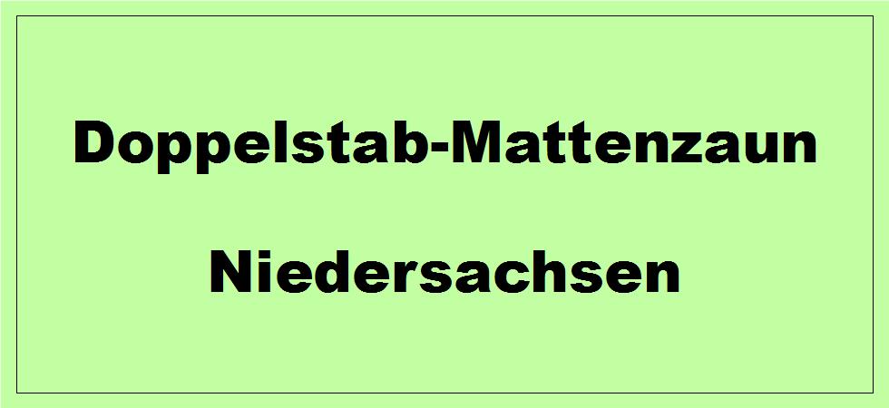 Doppelstabmattenzaun In Niedersachsen Kaufen Angebote