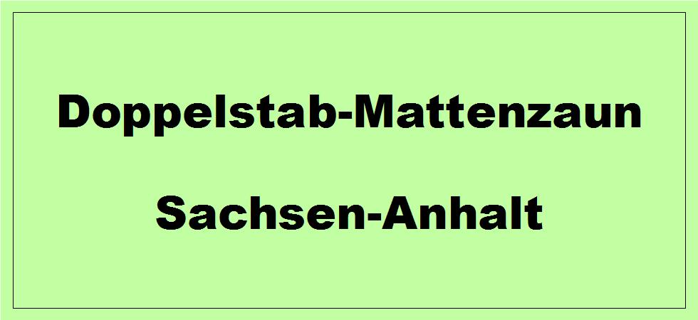 Doppelstabmattenzaun in Sachsen-Anhalt kaufen