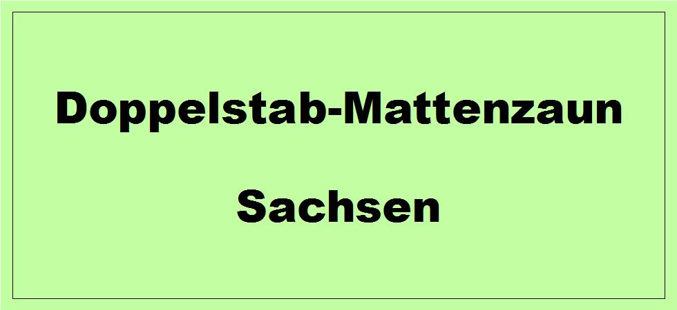 Doppelstabmattenzaun in Sachsen kaufen