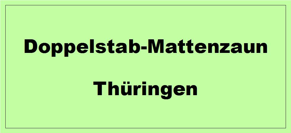 Doppelstabmattenzaun in Thüringen kaufen