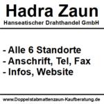 HADRA Zaun | Hanseatischer Drahthandel GmbH | Alle Standorte