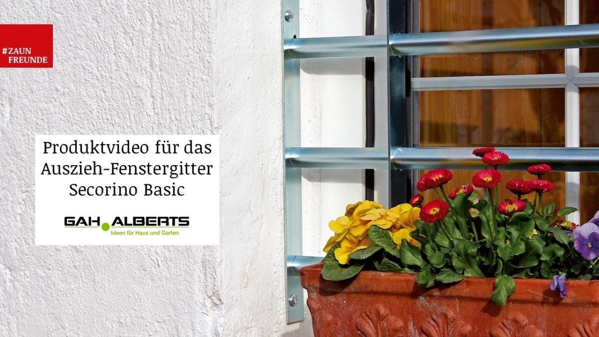 GAH Alberts Fenstergitter Friedberg Kellerfenstergitter 558802