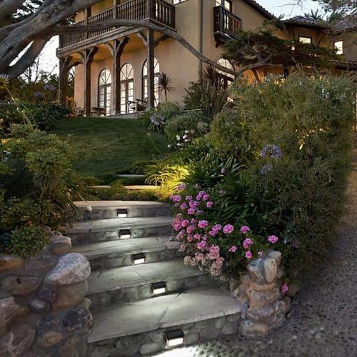 Hochwertige Beleuchtung für Ihren Garten, zB. für Stufen oder an der Wand