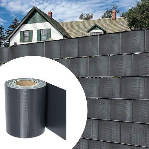35m Grün PVC Sichtschutz Streifen Zaunfolie Doppelstabmatten Zaun Stabmattenzaun