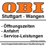 Obi Wangen | Baumarkt in Stuttgart-Wangen