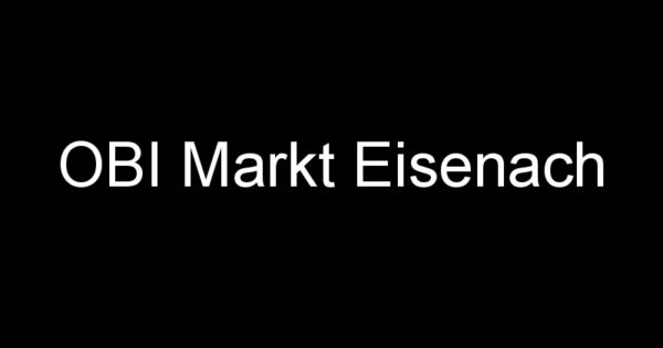Obi Eisenach