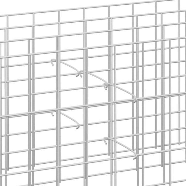Gabionenhaken und Distanzhalter – Zubehör für Doppelstabmattenzaun