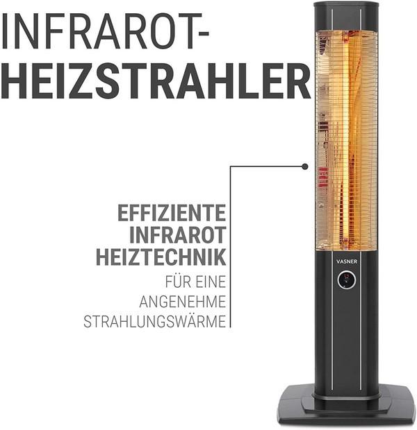 Vasner StandLine 23R Infrarot-Heizstrahler
