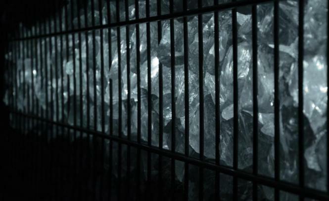 Led Beleuchtung für Gabionen Zaun Leuchte LED 25cm länge 360° Farbe kaltweiß