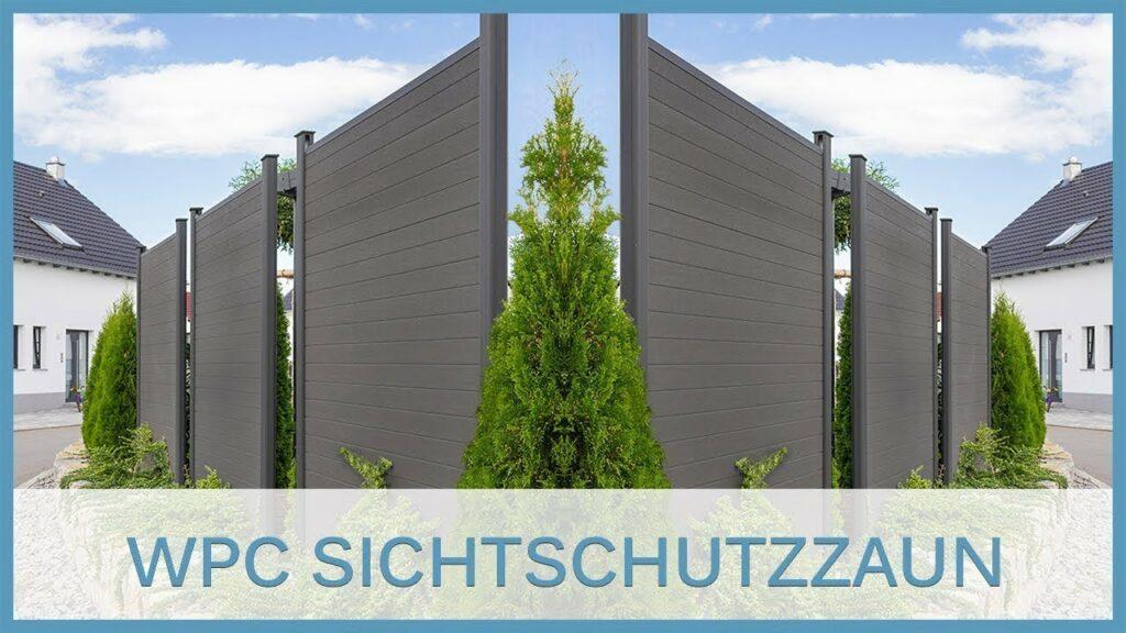 WPC Sichtschutzzaun (Produktvorstellung)